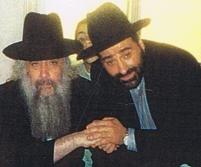 Rav Moryoussef avec le Grand Rabbin, Rav David H. Pinto