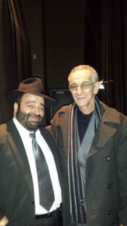 Rabbin Moryoussef et Abdel Ghani