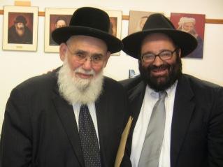 Rav Moryoussef en présence du Grand Rabbin du Québec - Dr. David Sabbah.